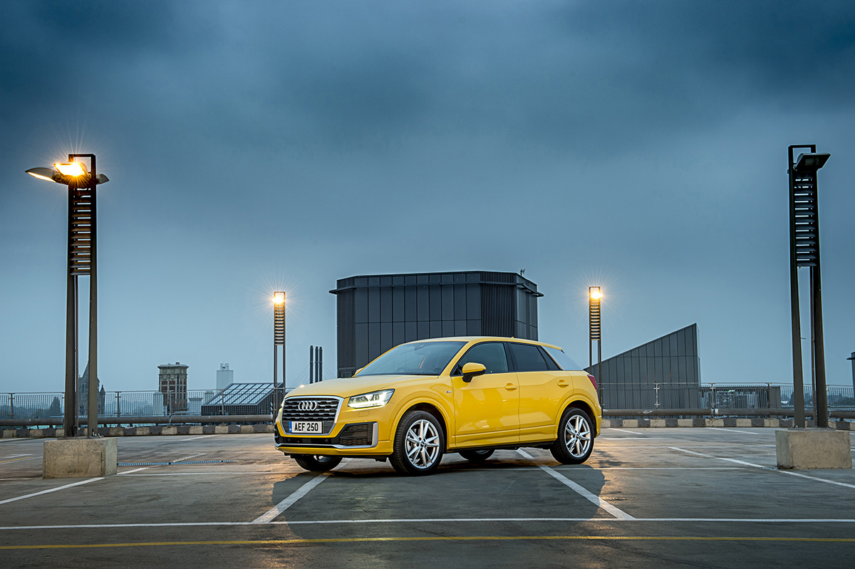 Audi Q2 - The most searched for brands