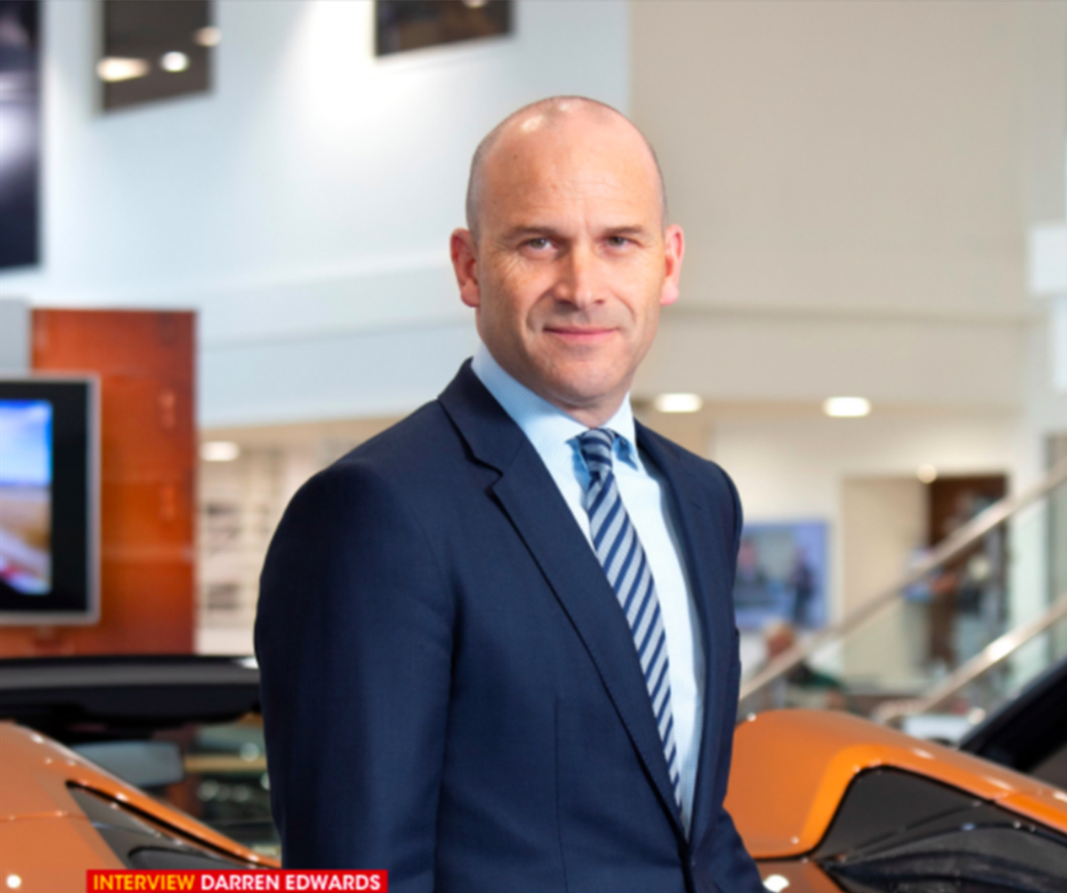 Darren Edwards - CEO of The Sytner Group