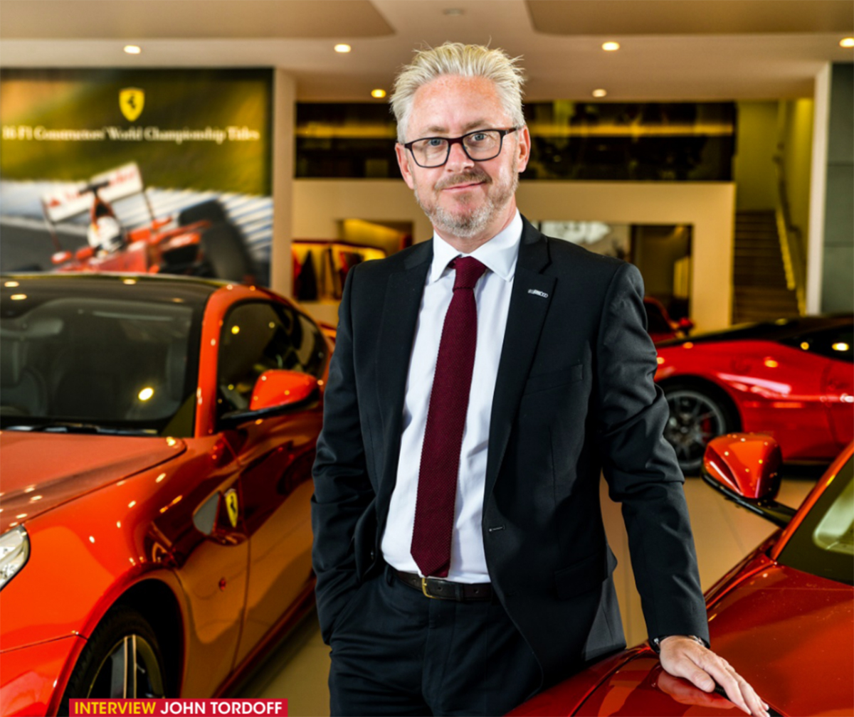 John Tordoff - Chief executive of JCT600