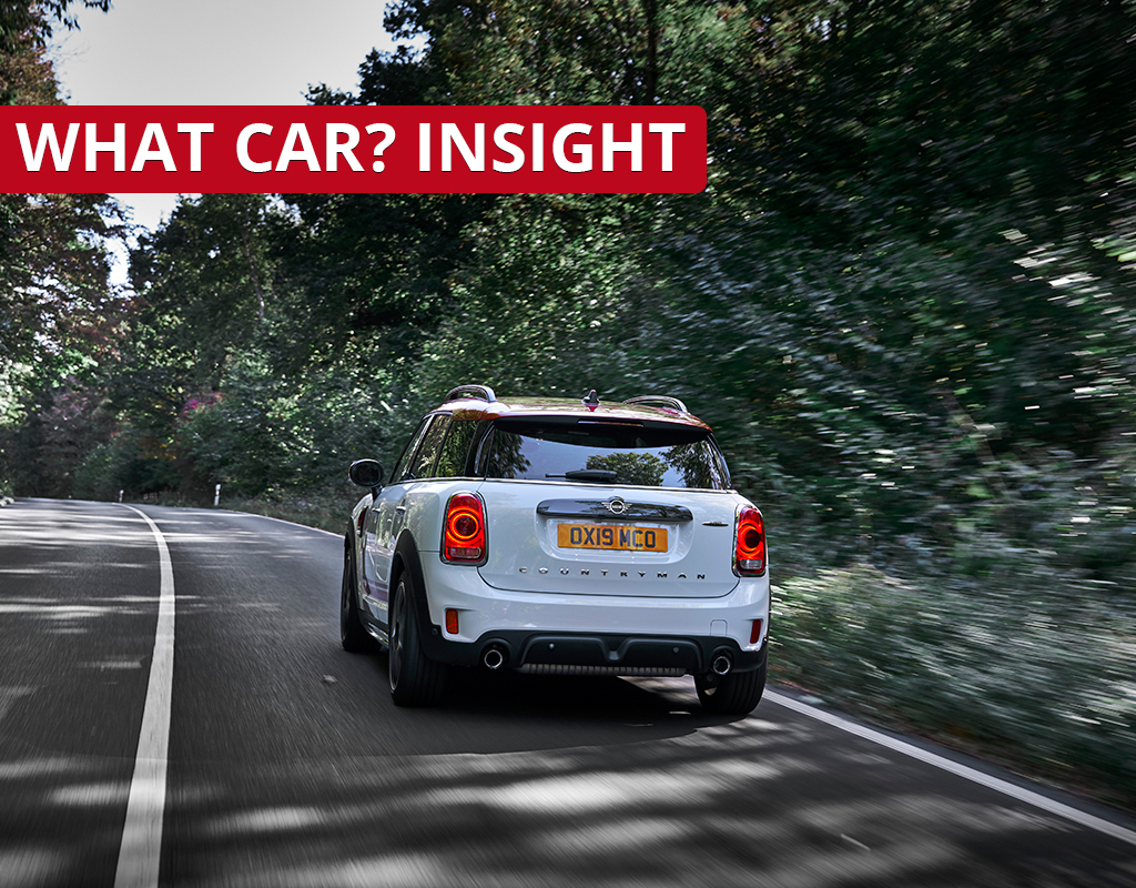Mini Countryman Driving Down A Country Road - Target Price Analysis