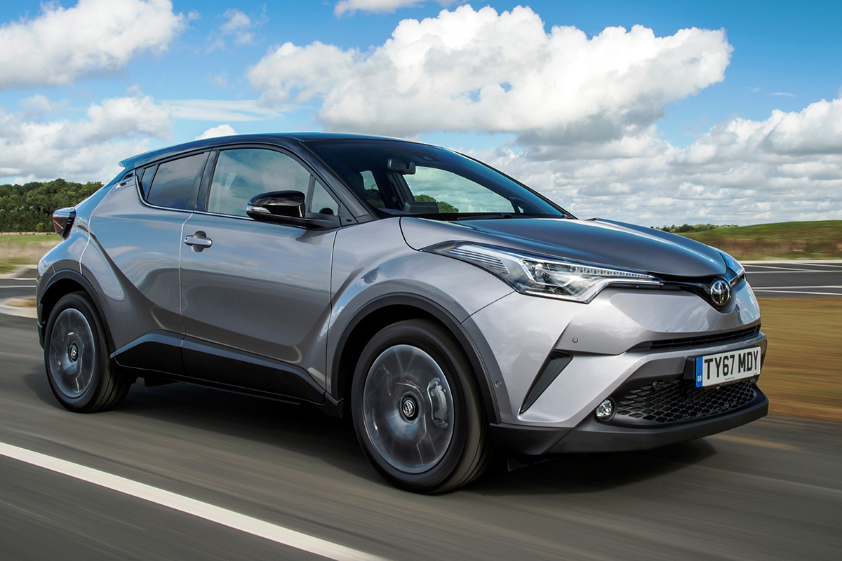 Toyota C-HR Driving - Competitor Insight