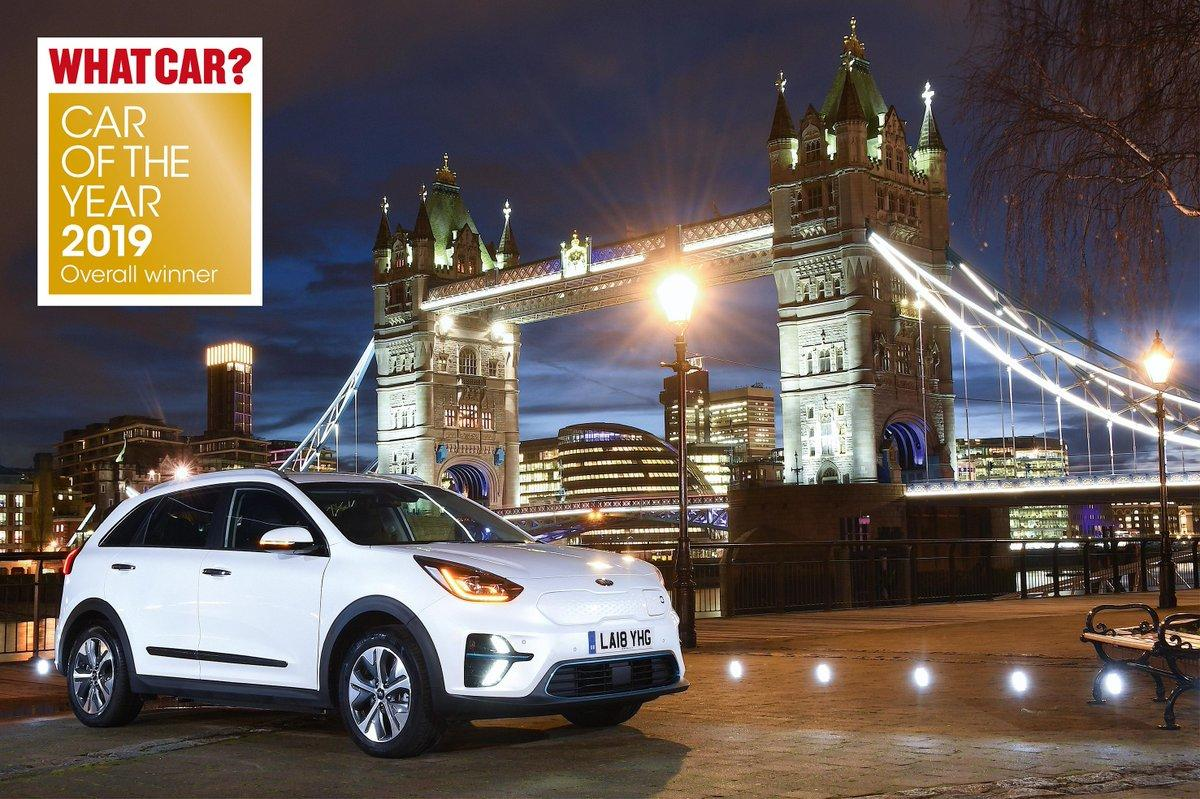 What Car? Car of the Year 2019. The Kia e-Niro.